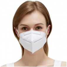 4 Layer FFP2 KN95 Respirator Face Masks. Filtration & Protection (Pack of 5)