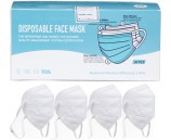 4 FFP3 N99 Respiratory Face Masks and 1 Boxes of 50 3ply Disposable Masks