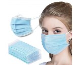 3 Layer Type IIR Disposable Protective Face Masks. Pack of 50. Click on Image for More Info