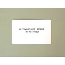 Ingenico supervisor card