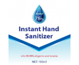 Hand Sanitiser 100ml 75% Alcohol Gel Super Bundle 96 bottles