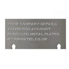 Embossed Plates